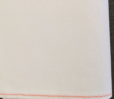 14ct - 14 count Zweigart White Aida Cloth - assorted precut sizes only