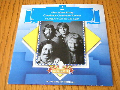 Creedence Clearwater Revival Bad Moon Rising Long As I