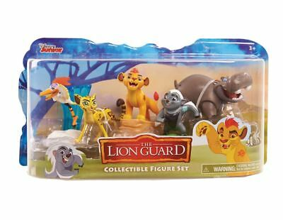 Disney Lion Guard Figures (5 Pack) Kion, Bunga, Beshte, Fuli & Ono NEW