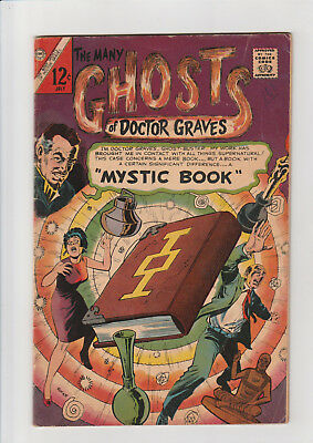 Many Ghosts of Dr. Graves  #2  G+  Charlton comic 1967 Mystic