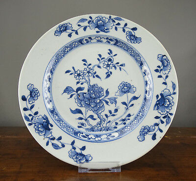 Chinese Plate Nanking Cargo Porcelain Blue White Antique 18th Century Christies