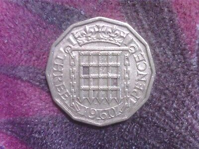 Great   Britain    Threepence   1960