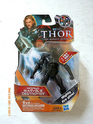 Marvel Universe The Mighty Thor- The Destroyer- Black Variant Action Figure! New