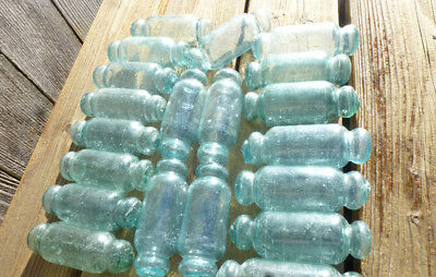#1 Vintage Japanese Glass Rolling Pin Fishing Floats, 20