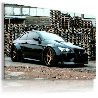 BMW M3 BROWN Sport Car Large Wall Canvas Picture ART   AU550  MATAGA .