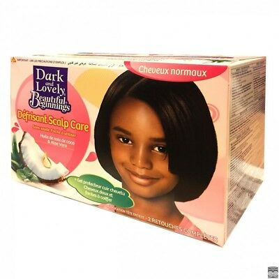 Kit Défrisant Dark Lovely Normal Cheveux Defriser Defrisage Lisser Lissant