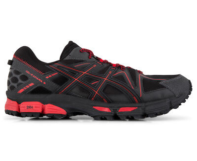 ASICS Men's GEL-Kahana 8 Shoe - Black/Classic Red/Phantom