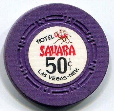 A classic 50c casino chip from the Sahara in Las Vegas NV!