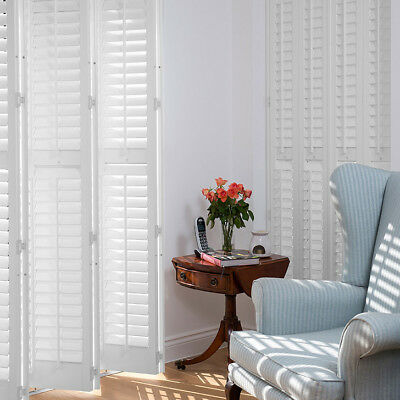 High Quality Real Wood Custom Made Plantation Shutters - Order sample -Ask quote