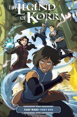 Legend Of Korra, The: Turf Wars Part One by Michael Dante DiMartino...