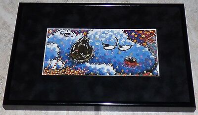 Tom Everhart Peanuts Snoopy Stalking In L.a. 2002 Framed Print Charles Schulz