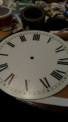"""10"""" Alcan steel  clock face vintage new old stock"""