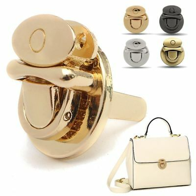 MM Craft Hardware Purse Twist Lock Shape Round Handbag Bag DIY Clasp Turn Lock