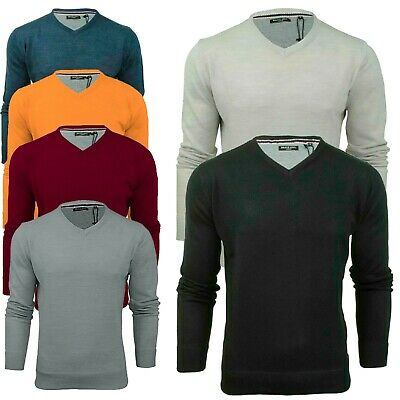 Mens Brave Soul Mens 'Quazar' Knitted Crew Neck Jumper Sweater Top S to 5XL