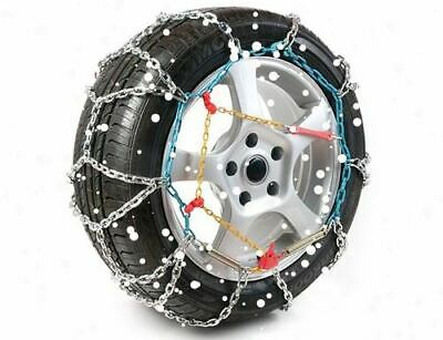 "16mm Heavy Duty Snow Chain  17"" Wheels 4x4 Van Car Motorhome 215/55 R17 TXRPRO"