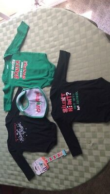 Christmas Baby Clothes Lot