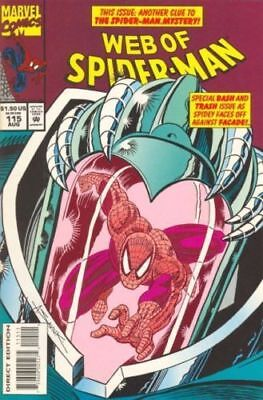 Web Of Spider-Man #115 Vol.1 Vf/nm Facade App