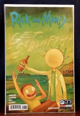 Rick and Morty Dungeon ad Dragons Issue #3 1st Variant *We Combine Shipping*