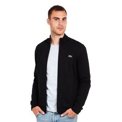 Lacoste - Brushed Fleece Jacket Black Sweatjacke