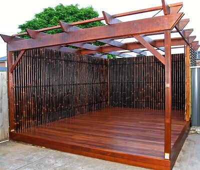 2.4M x 0.9M BAMBOO FENCE PANEL, PRIVACY SCREENS - IN STOCK