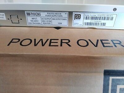 Poe37U-480-8-N-R - Phihong - Power Supply Data