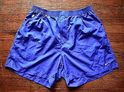 Nike Athletic Casual Outdoor Button Zip Shorts Blue Men's Size Xl