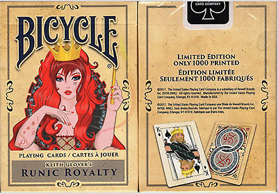 Runic Royalty Bicycle Playing Cards from Murphy's Magic