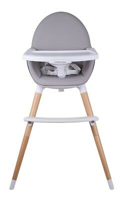 Childcare Pod Timber High Chair - Natural