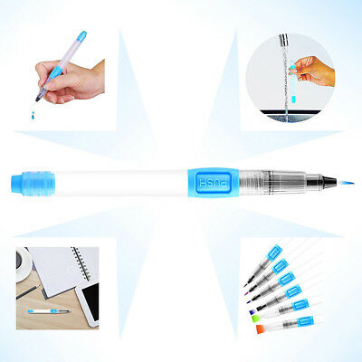 Refillable Pilot Water Brush Ink Pen for Painting Watercolor Drawing  Soft Pens