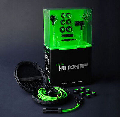 Razer Gaming headphones Hammerhead Pro In-Ear PC Music Gaming Headset With Mic