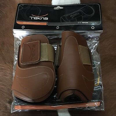 Tekna Hind Boots Fetlock Ankle Tobacco Brown Large Full Horse Riding Work Boots