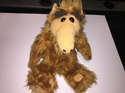 "ALF PLUSH DOLL 1986 COLECO 18"" ALIEN LIFE FORM Stuffed Animal"