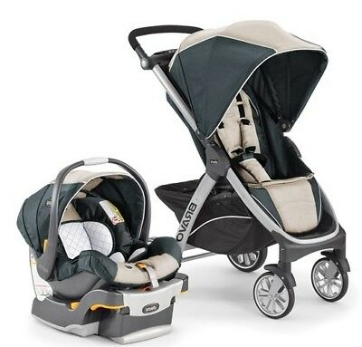 Chicco Bravo Travel System Package - Silverspring