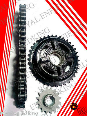 Brand-New-Genuine-Royal-Enfield-Chain-Sprocket-Kit-16T- O Ring Best Quality