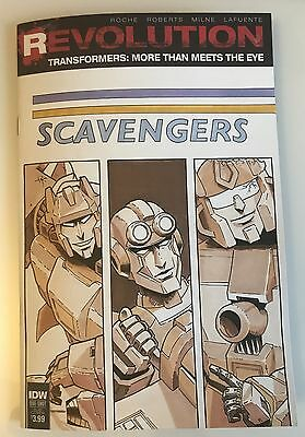 Transformers Revolutions Issue 1 Hand Drawn Cover