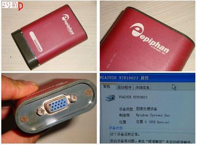 Epiphan VGA2USB VGA Video Grabber W/O VGA Cable and Software