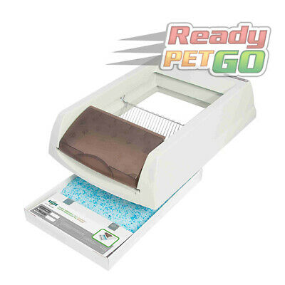 ScoopFree Self-Cleaning Cat Litter Box,Automatic Cat Toilet with Disposable Tray