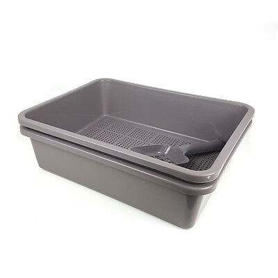 The Kitter Litter Tray with Sieve, Portable Pet Cat Toilet
