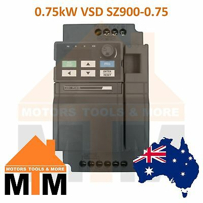 Single Phase 0.75kW 1HP VSD VFD Variable Speed Frequency Drive Inverter