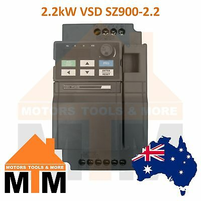 Single Phase 2.2kW 3HP VSD VFD Variable Speed Frequency Drive Inverter