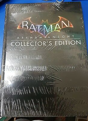 Brand New Batman Arkham Knight Collector's Edition Game Guide sealed