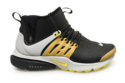 various colors f4561 0c84e Mens Nike Air Presto Mid Utility - 859524002 - Black Gold Grey Yellow  Trainers