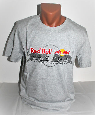 Puma Red Bull Racing T-Shirt Shirt Herren Men Sport Energy Drink Gr. 44/46NEU