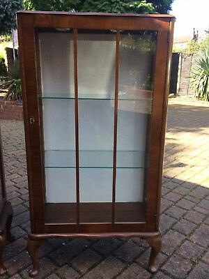1930s Art Deco China Display Cabinet