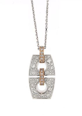 Chimento CHIMENTO YELLOW AND ROSE GOLD NECKLACE WITH DIAMOND sku