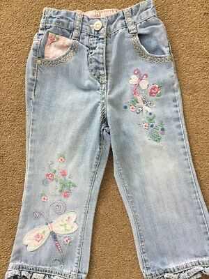Girls very pretty jeans from NEXT for 18 - 24 months in ex.cond