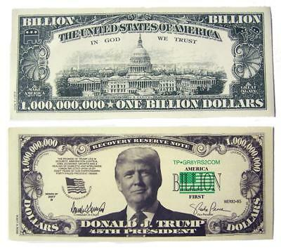 FAKE Donald Trump 2017 Federal Inaugural Bills  President Collectible 5 G2