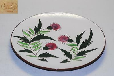 5 Stangl Thistle Dinner Plate Plates 10.25 Inch