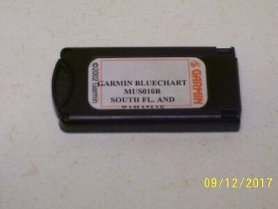 Garmin BlueChart Southeast Florida & Bahamas MUS010R 2002 Data Card Marine Chart
