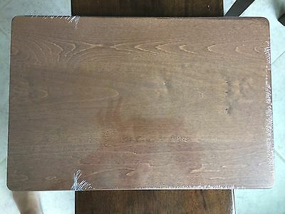 Longaberger Woodcrafts Shelf for WI Bakers Rack & 5 Level Stand  Rich Brown NEW